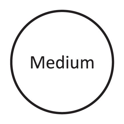 Medium ( UK 5 - 7.5 )