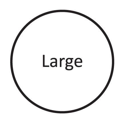 Large ( UK 8 - 11 )