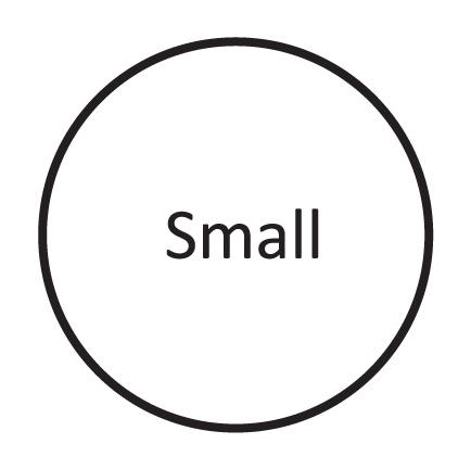 Small ( UK 2 - 4.5 )